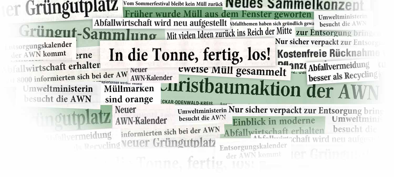 Abfallwirtschaft Neckar Odenwald Kreis Awn Aktuelles